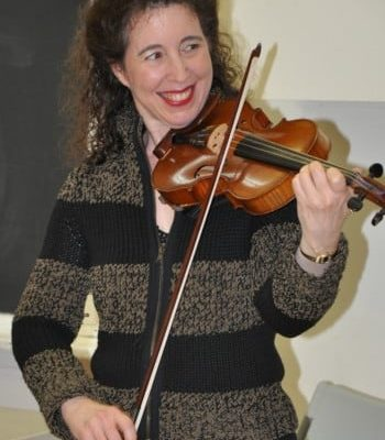 Angela On Violin