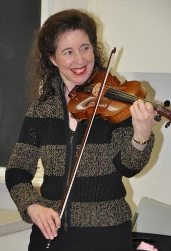 Angela On Violin