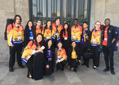 OrKidstra in Mexico City with participants from New Brunswick, Canada.