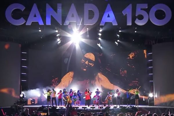 Alessia Cara and OrKidstra perform on Canada Day 2017