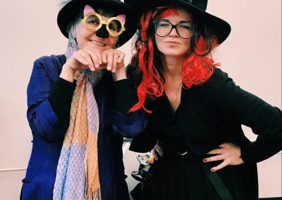 Ms. Louise and Ms. Lisa Halloween 2017