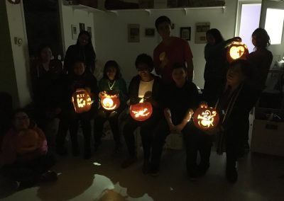PUMPKIN 9 - youth group - 2017 - GROUP PHOTO dark